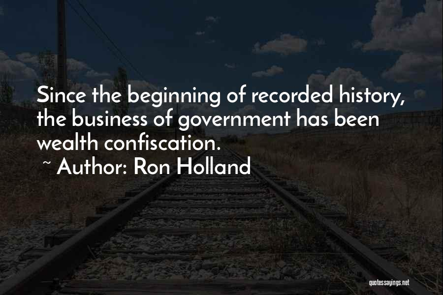 Ron Holland Quotes 768831