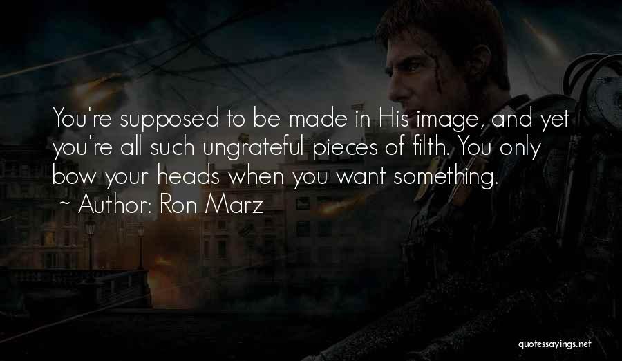 Ron Marz Quotes 321549