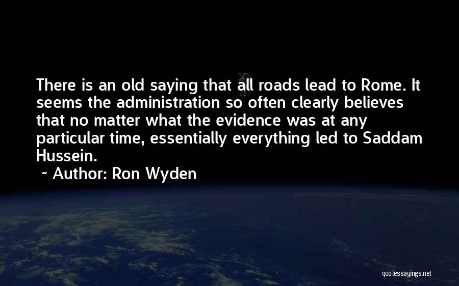 Ron Wyden Quotes 1197396