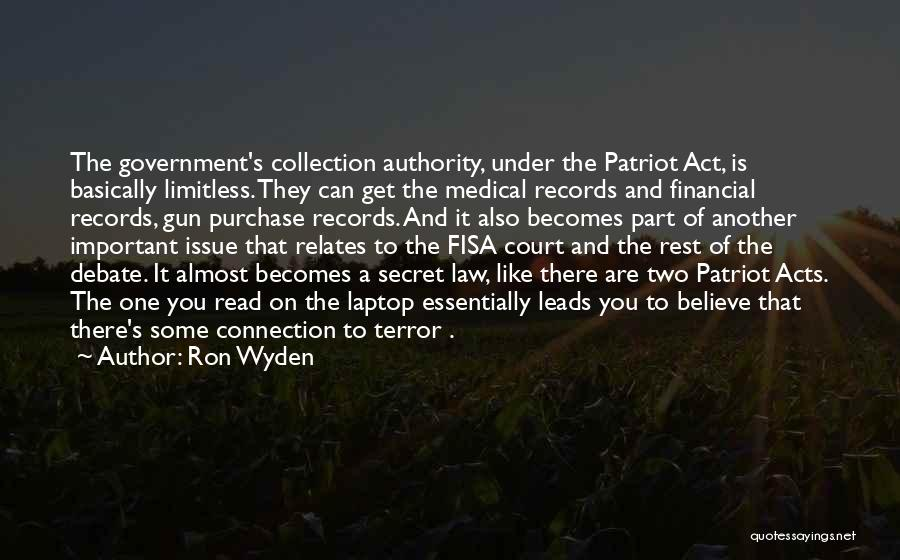 Ron Wyden Quotes 1295522