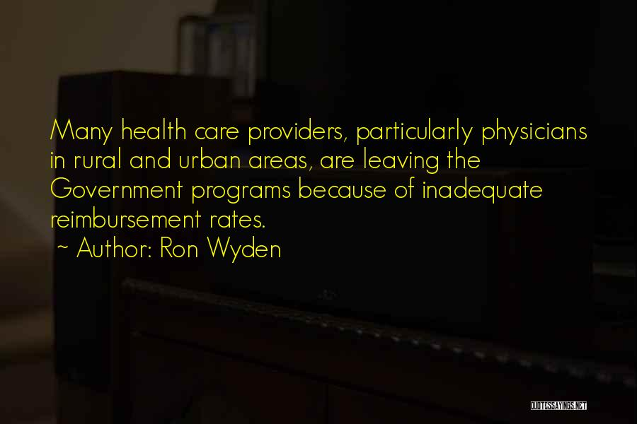 Ron Wyden Quotes 1616511