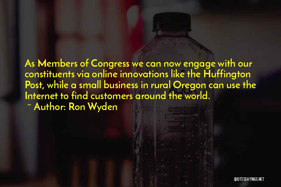 Ron Wyden Quotes 176709