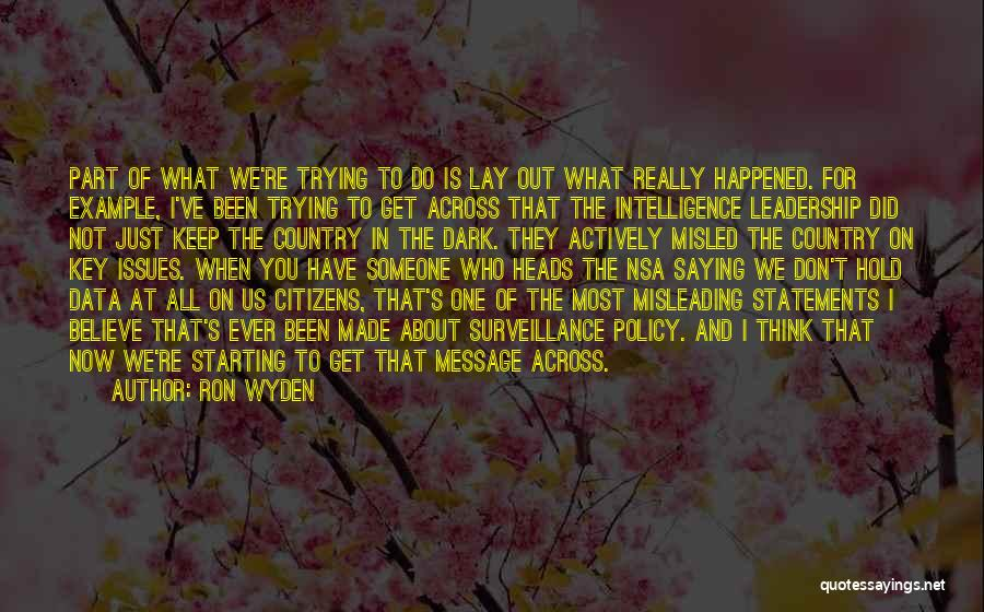 Ron Wyden Quotes 215653