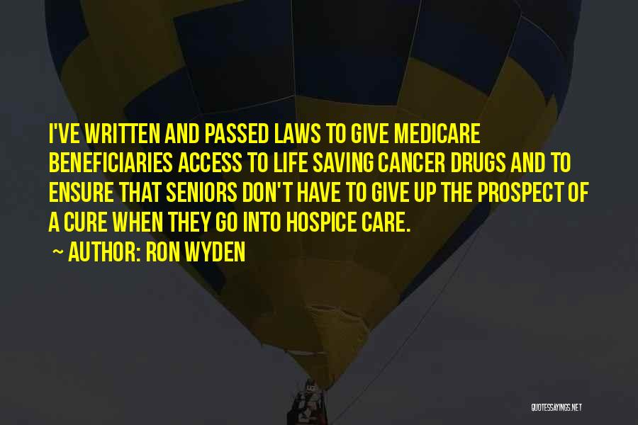 Ron Wyden Quotes 222617