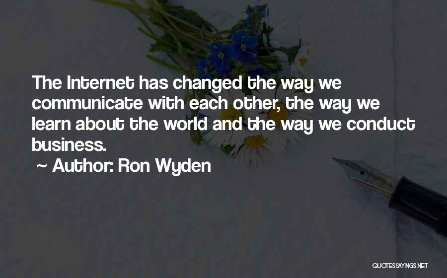 Ron Wyden Quotes 275364