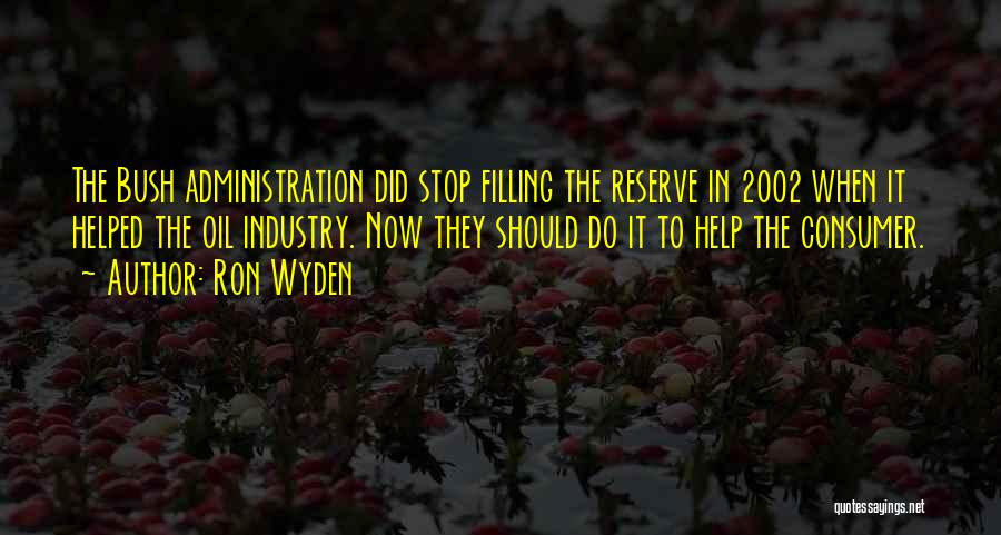 Ron Wyden Quotes 339217