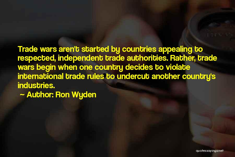 Ron Wyden Quotes 907781