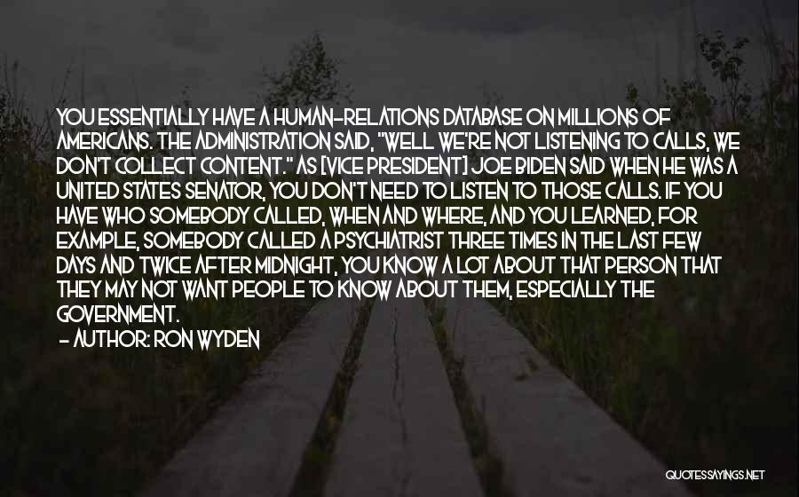 Ron Wyden Quotes 913714
