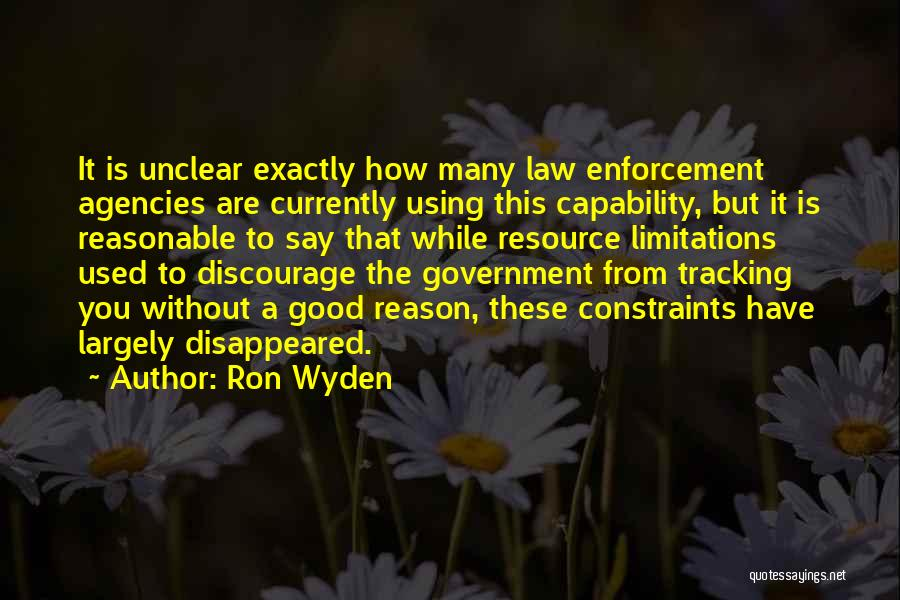 Ron Wyden Quotes 978029