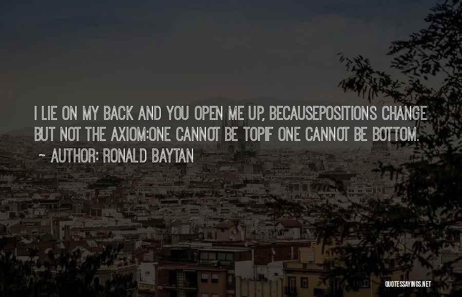 Ronald Baytan Quotes 1865534