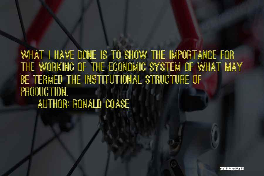 Ronald Coase Quotes 1307219