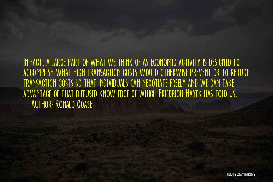 Ronald Coase Quotes 1409765
