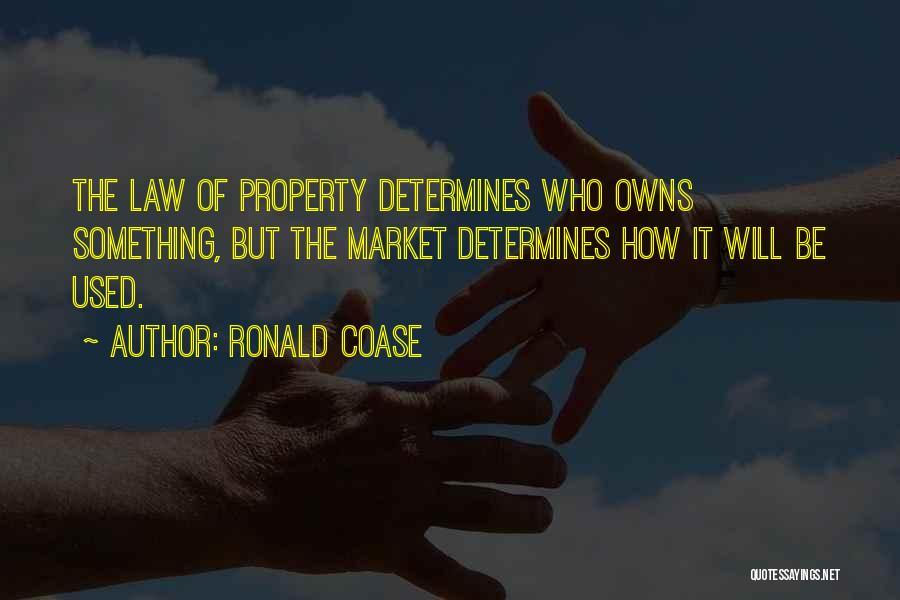 Ronald Coase Quotes 1499565