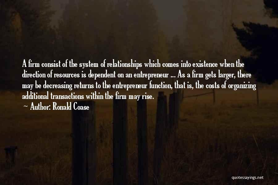 Ronald Coase Quotes 1551484