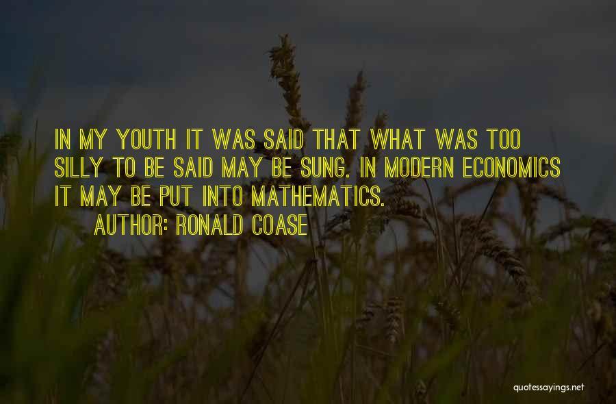 Ronald Coase Quotes 1631497