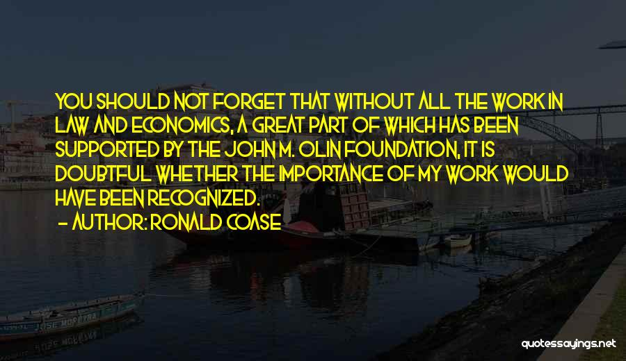 Ronald Coase Quotes 1633795