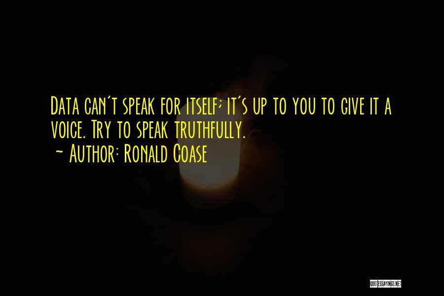 Ronald Coase Quotes 1748811