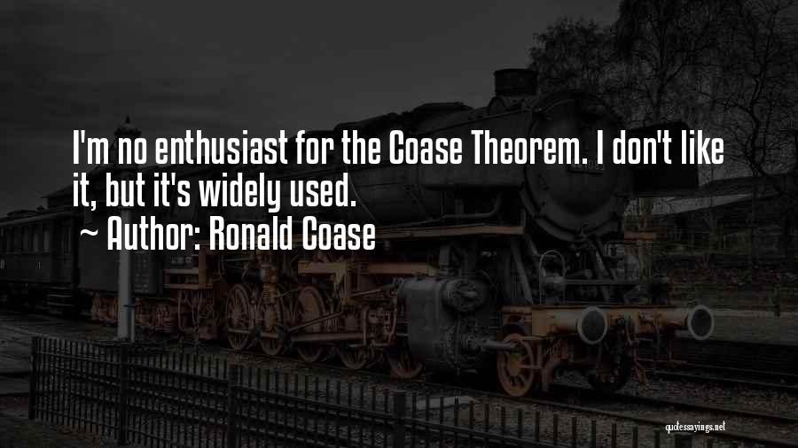 Ronald Coase Quotes 1867286