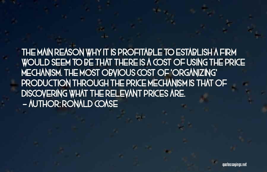 Ronald Coase Quotes 1883288