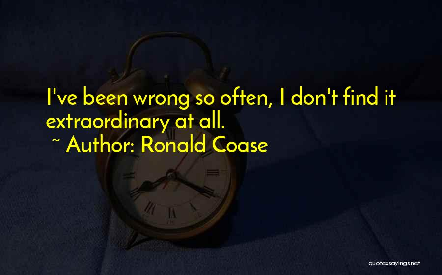 Ronald Coase Quotes 2191519
