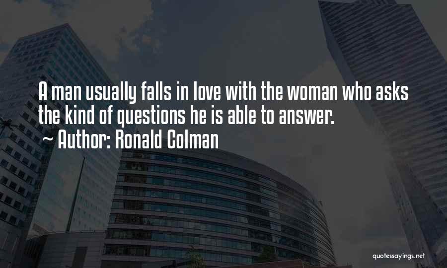 Ronald Colman Quotes 1594273