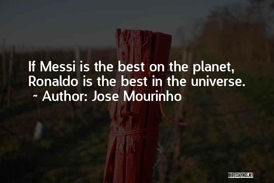 Ronaldo And Messi Quotes By Jose Mourinho