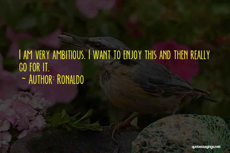 Ronaldo Quotes 1604790