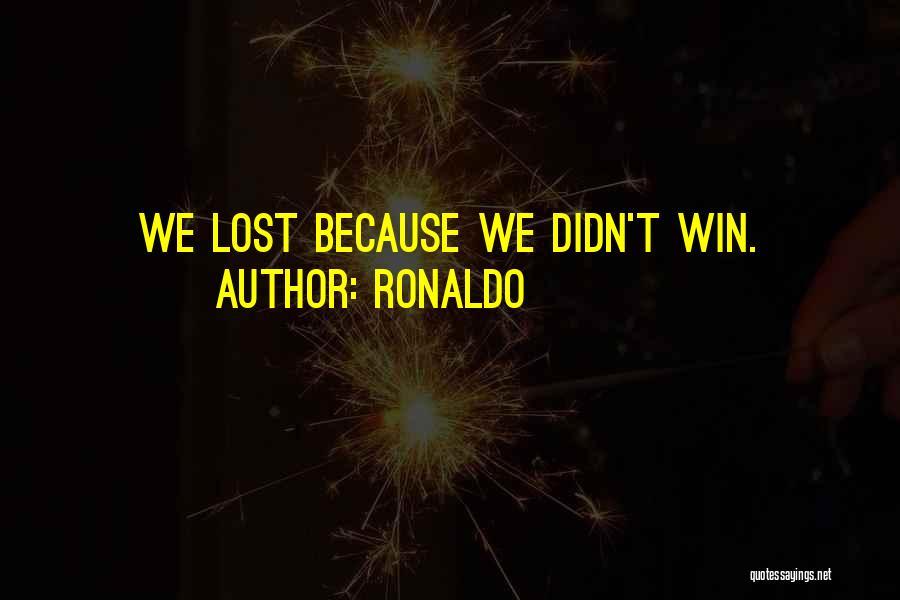 Ronaldo Quotes 1827756