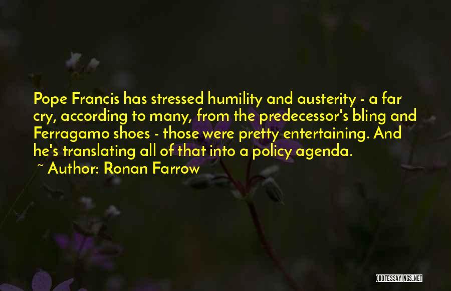 Ronan Farrow Quotes 1028322