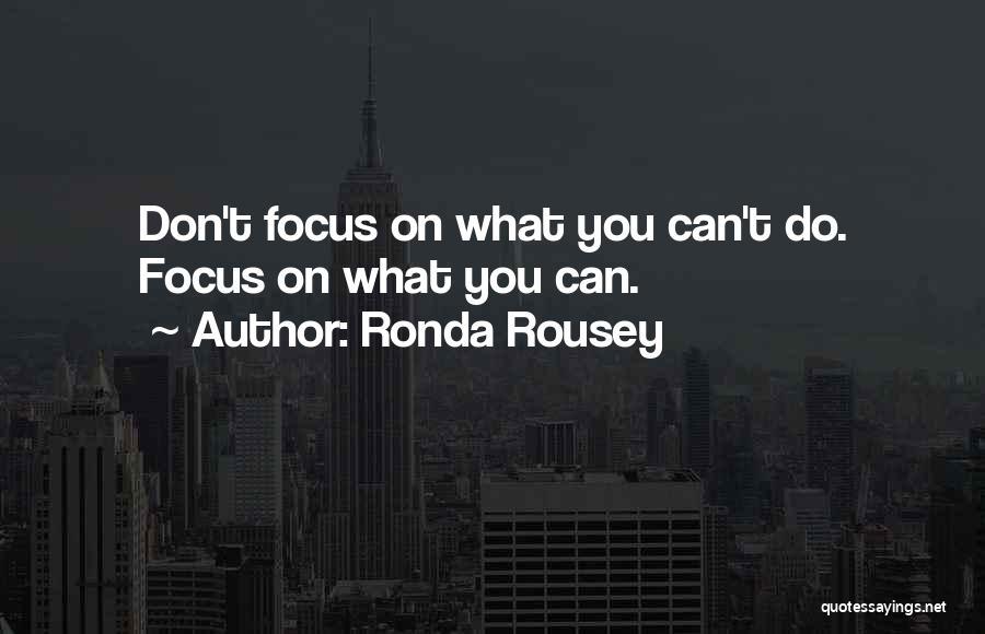 Ronda Rousey Quotes 1155515