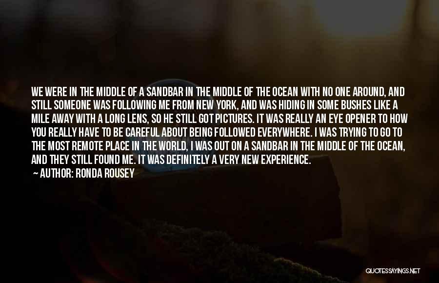 Ronda Rousey Quotes 122873