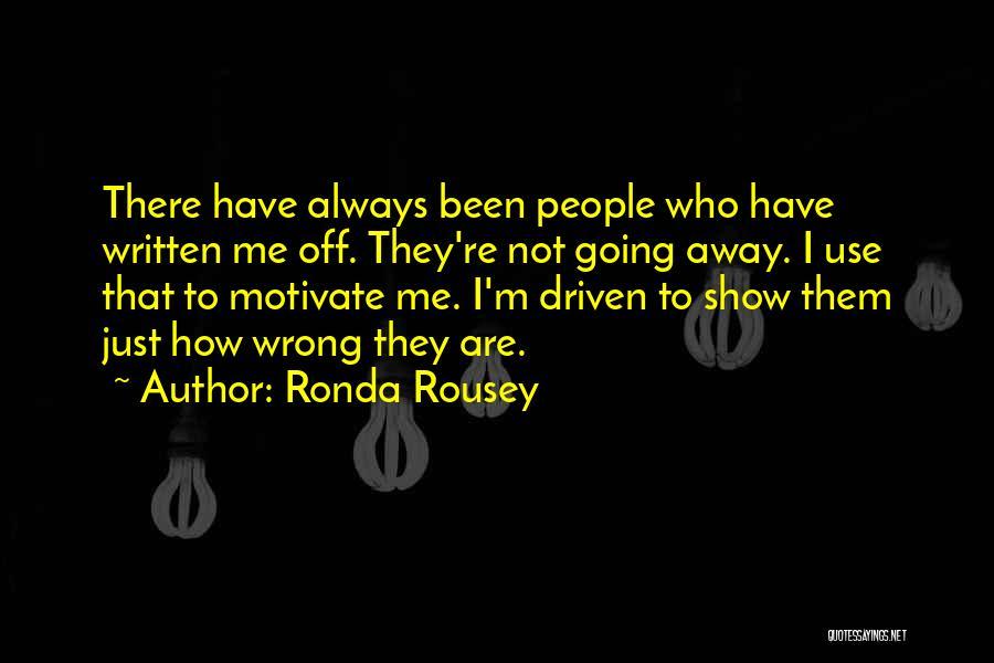 Ronda Rousey Quotes 1443484