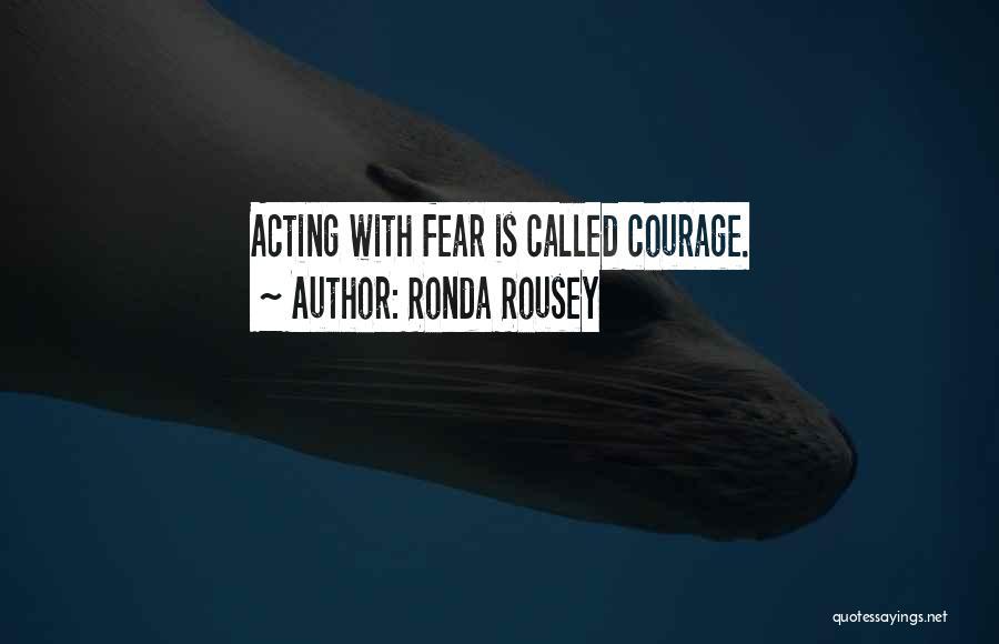 Ronda Rousey Quotes 1735539