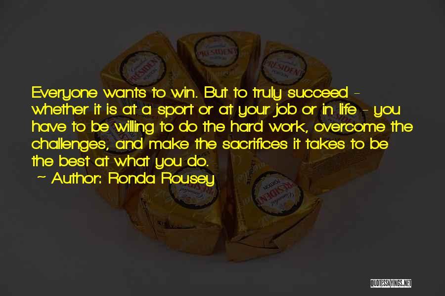 Ronda Rousey Quotes 1782456