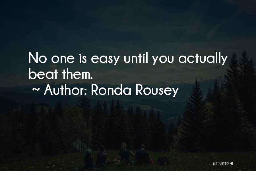 Ronda Rousey Quotes 1985081
