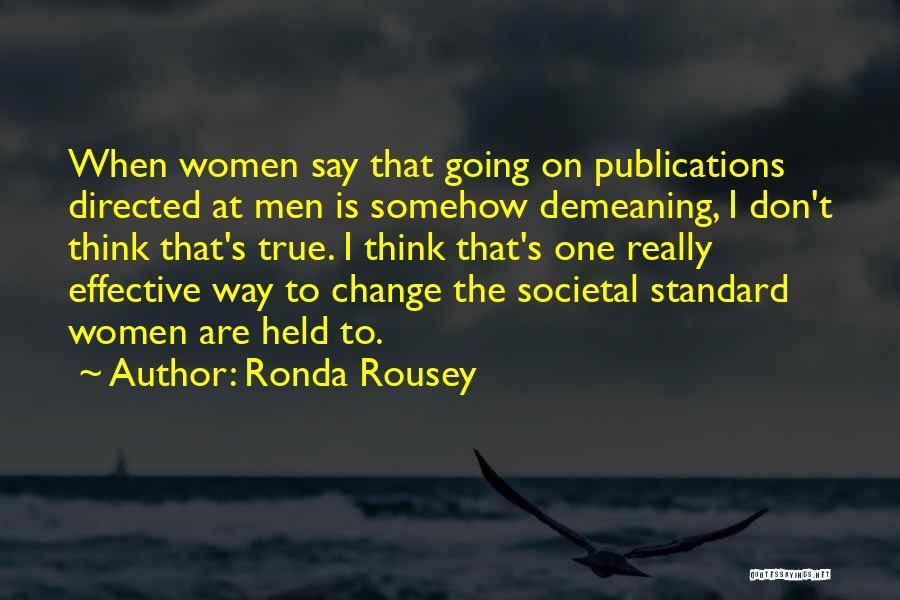 Ronda Rousey Quotes 2035844