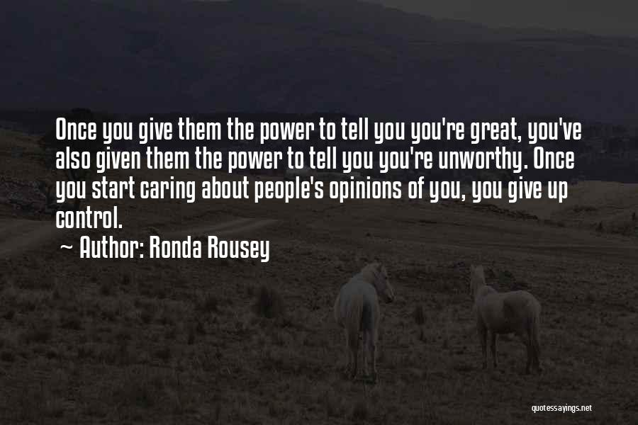 Ronda Rousey Quotes 2247539