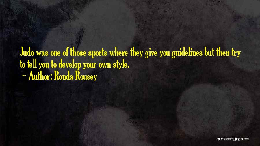 Ronda Rousey Quotes 91198