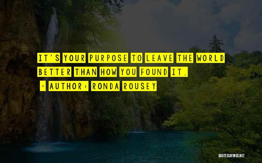 Ronda Rousey Quotes 970060