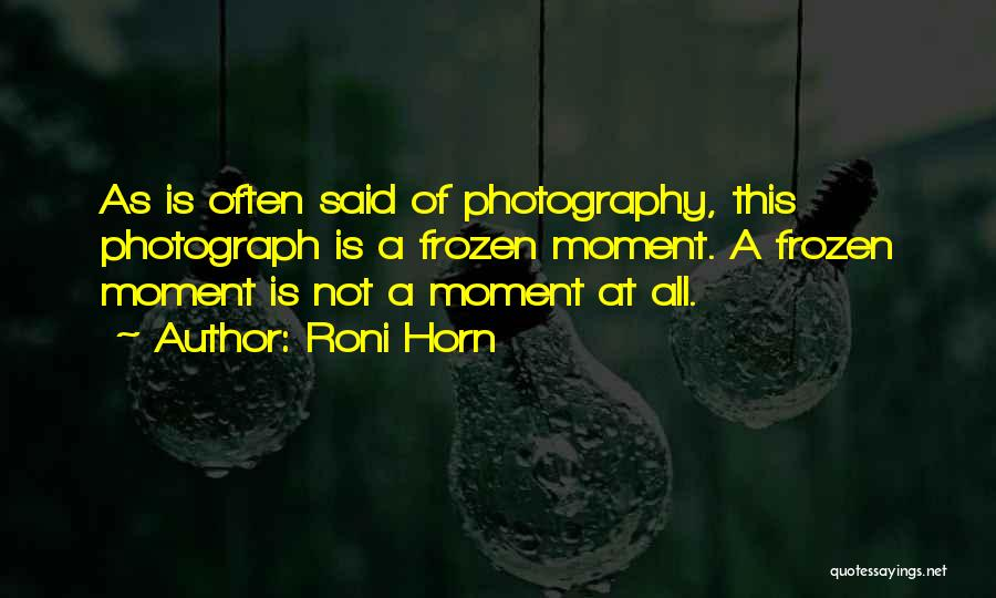 Roni Horn Quotes 1322539