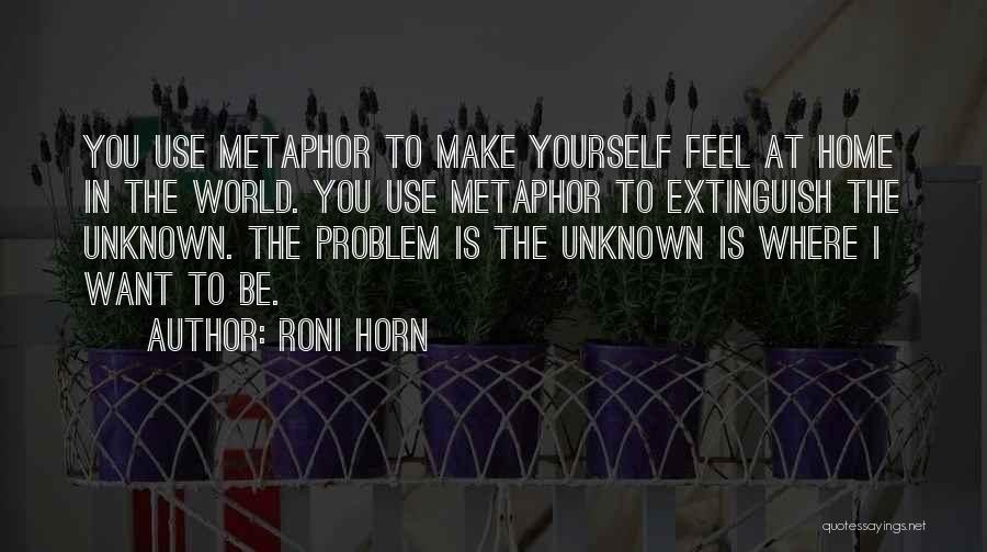 Roni Horn Quotes 1369998
