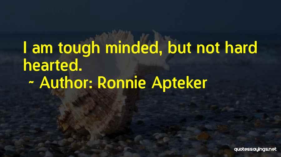 Ronnie Apteker Quotes 1578034