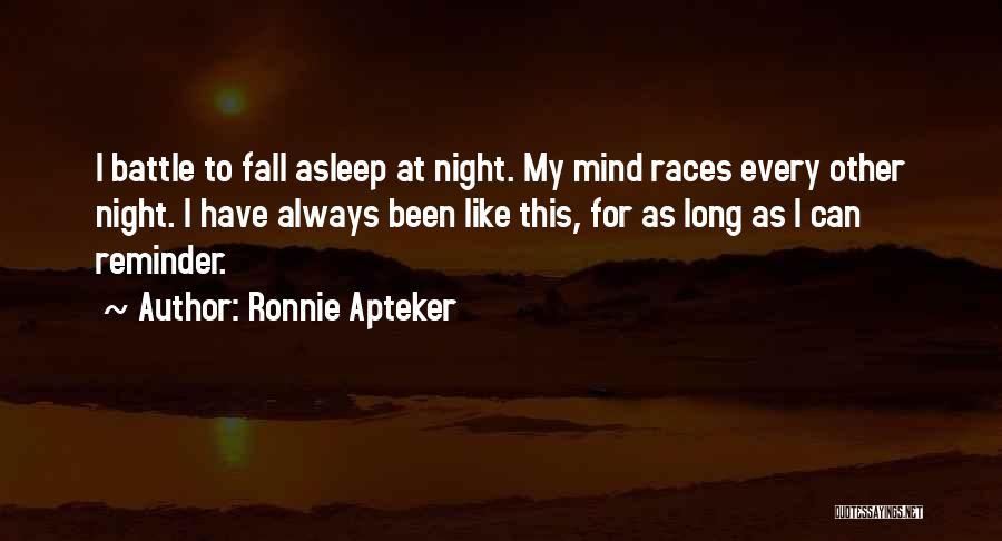 Ronnie Apteker Quotes 2059081