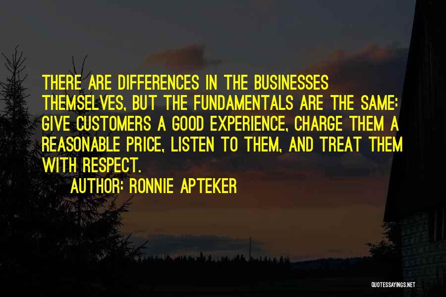 Ronnie Apteker Quotes 2189030