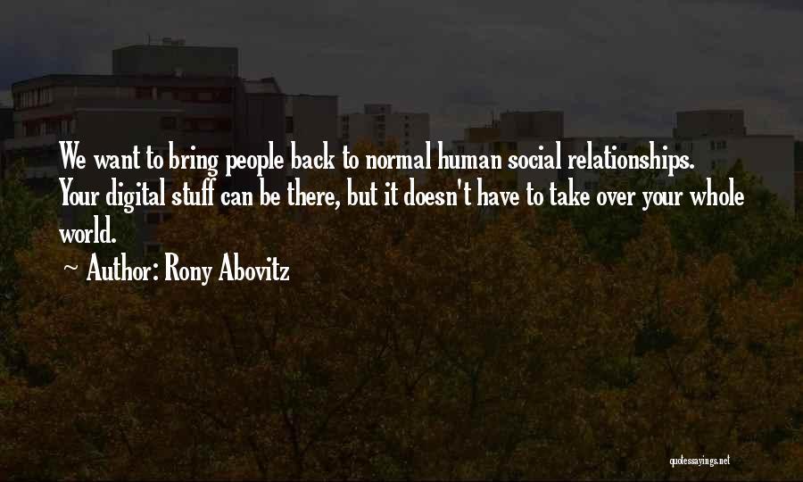 Rony Abovitz Quotes 2211992