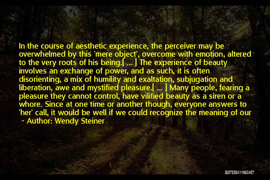 Roots Of Empathy Quotes By Wendy Steiner