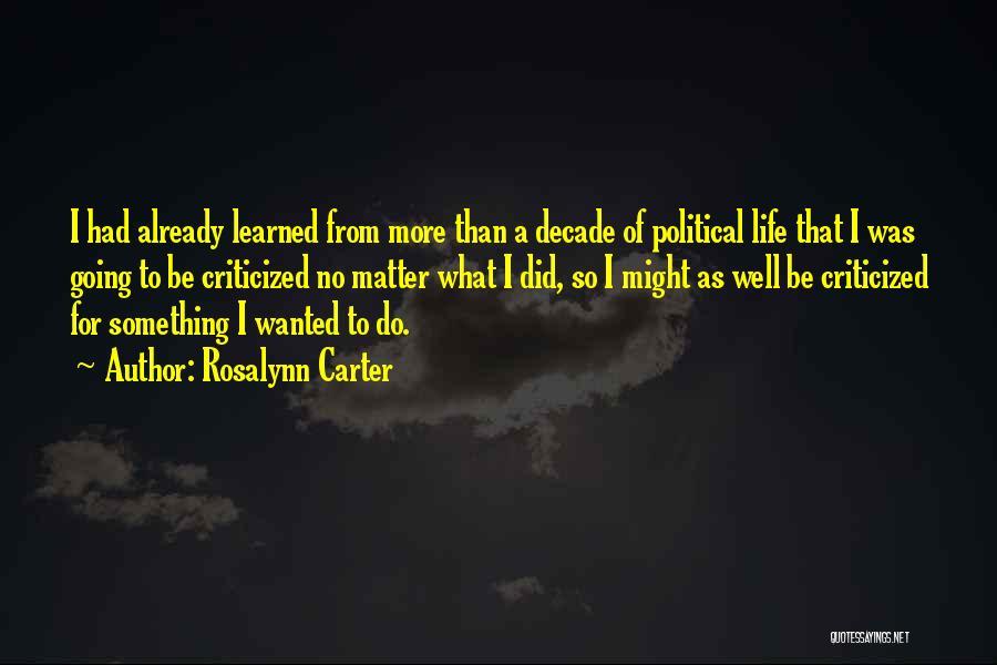 Rosalynn Carter Quotes 1554408