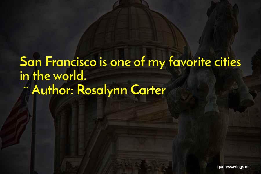 Rosalynn Carter Quotes 1838658