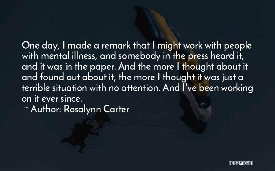 Rosalynn Carter Quotes 451225