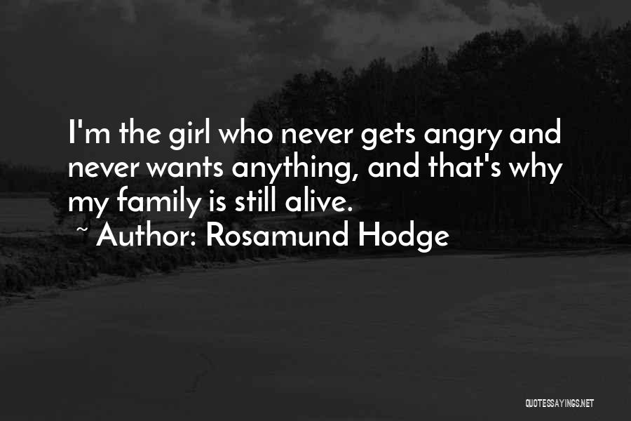 Rosamund Hodge Quotes 117946